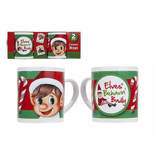 Elf Mug Set 2 Piece
