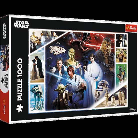 Star Wars In A Galaxy Far, Far Away Jigsaw Puzzle (1000 Pieces)