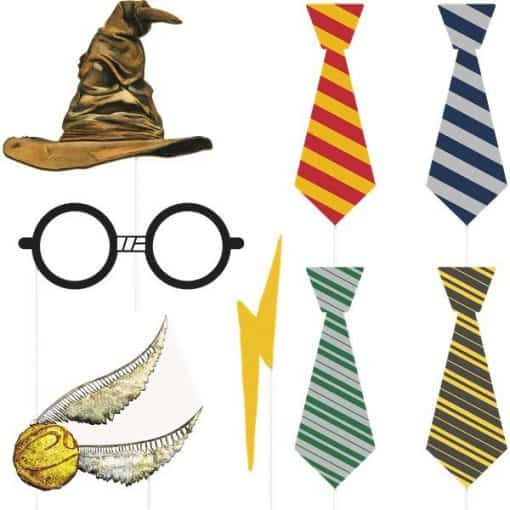 Harry Potter Party Photo Props 8pc