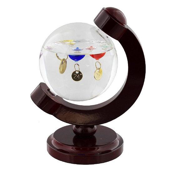 Galileo Thermometer Globe 16cm