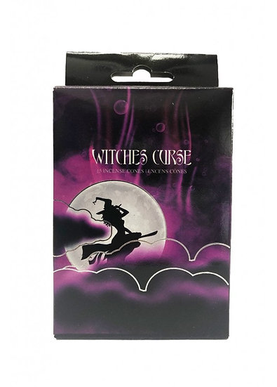 Witches Curse Incense Cones 15pk