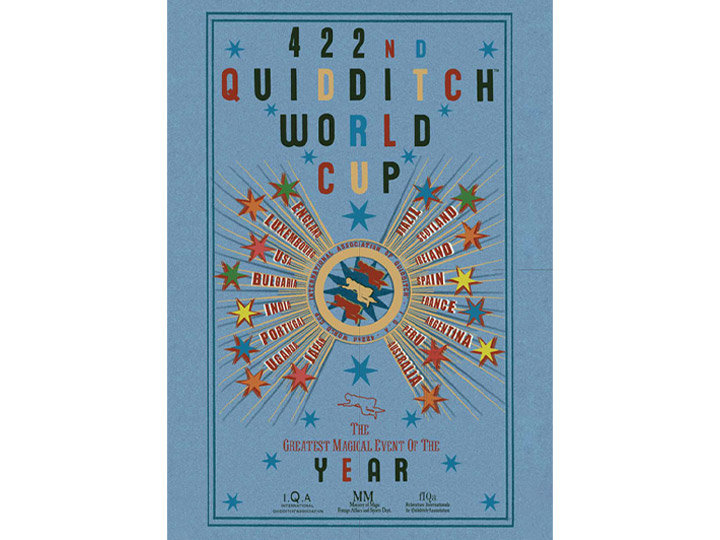 Harry Potter Quidditch World Cup Large Tin Sign