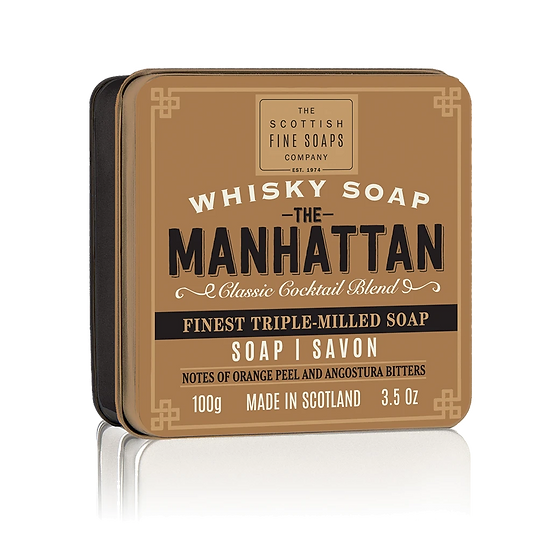 The Manhattan Soap In A Tin 100g