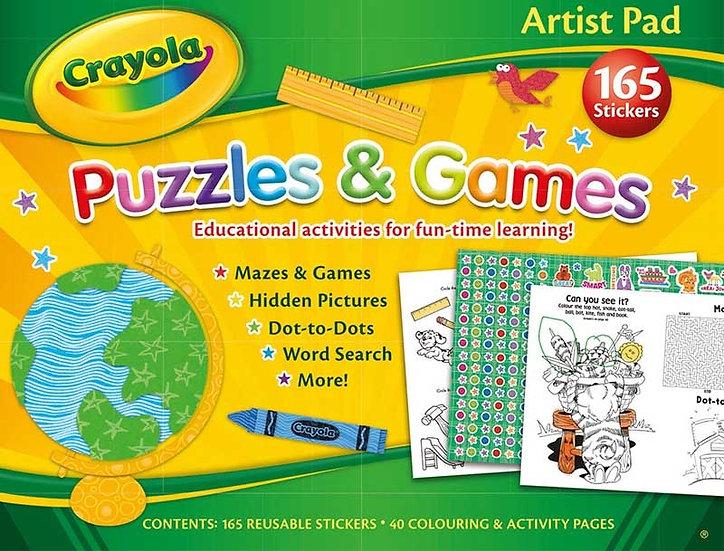 Crayola Artist Pad - Puzzles & Games