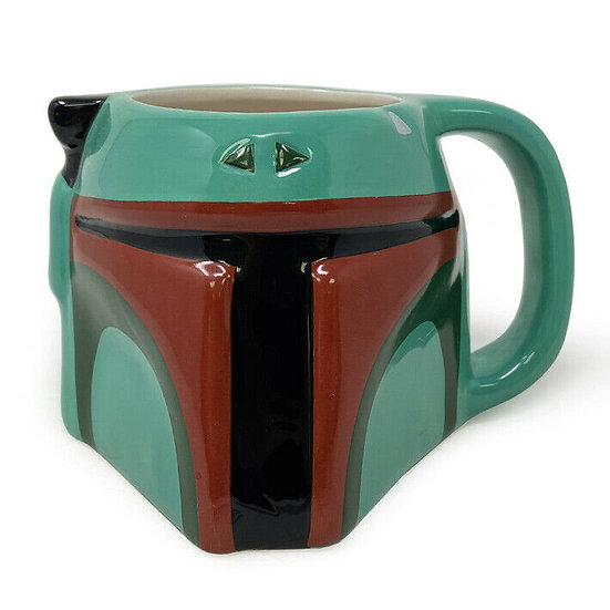 Star Wars Boba Fett 3D Sculptured Mug