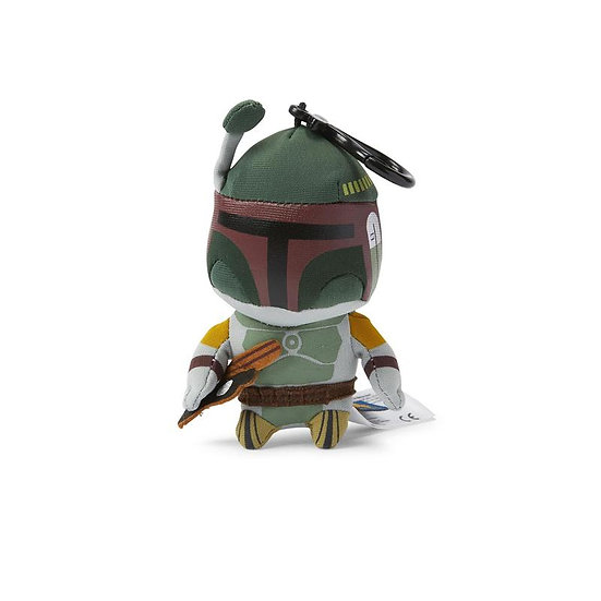Star Wars Mini Talking Plush Toy Clip On - Boba Fett