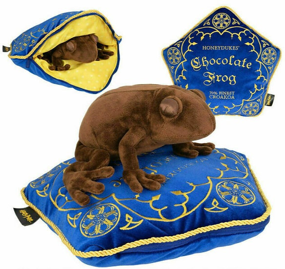 Harry Potter Chocolate Frog Plush & Pillow