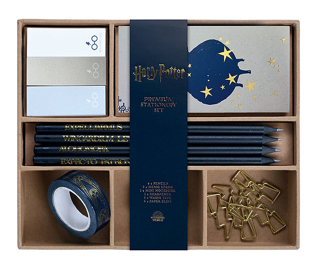 Harry Potter Spells & Charms Premium Stationery Set