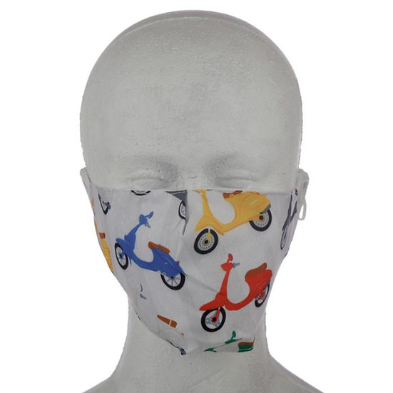 Speed King Scooter Reusable Face Mask