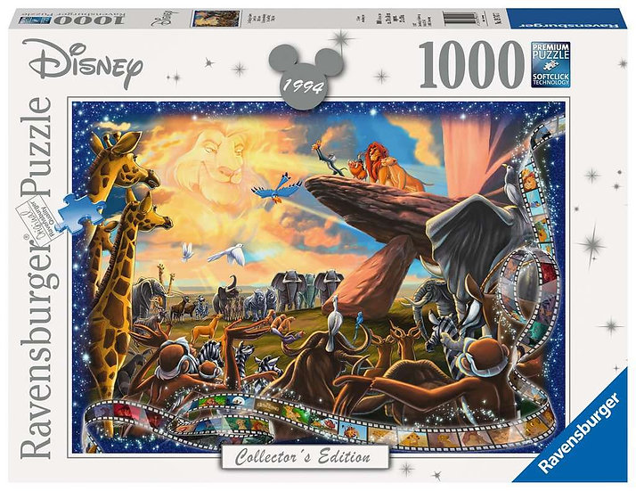 Disney Collectors Edition – The Lion King Jigsaw Puzzle (1000 Pieces)