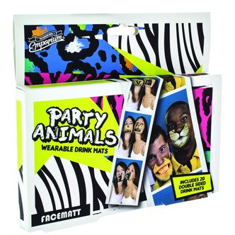 Party Animal Drink Mats