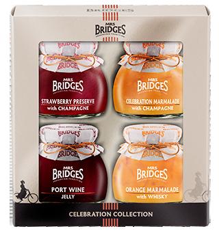 Mrs Bridges Celebration Collection (4 x 113g)