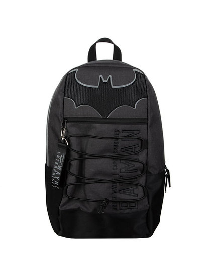 Batman Bruce Wayne Enterprises Bungee Backpack