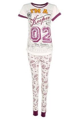 Harry Potter I'm A Keeper Ladies Pyjamas - Size 12-14