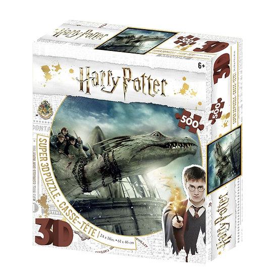 Harry Potter 3D Jigsaw Puzzle (500 Pieces) - Norbert