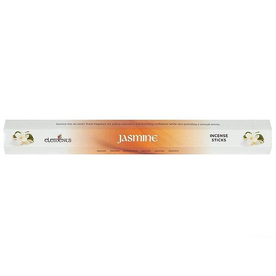Elements Jasmine Incense Sticks 20pk