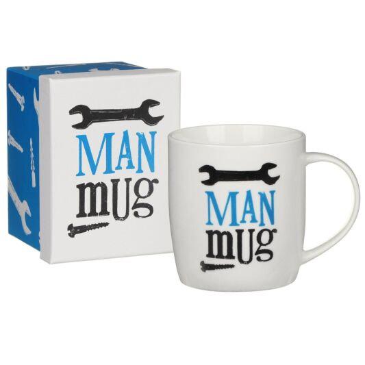 The Bright Side Boxed 'Man' Mug