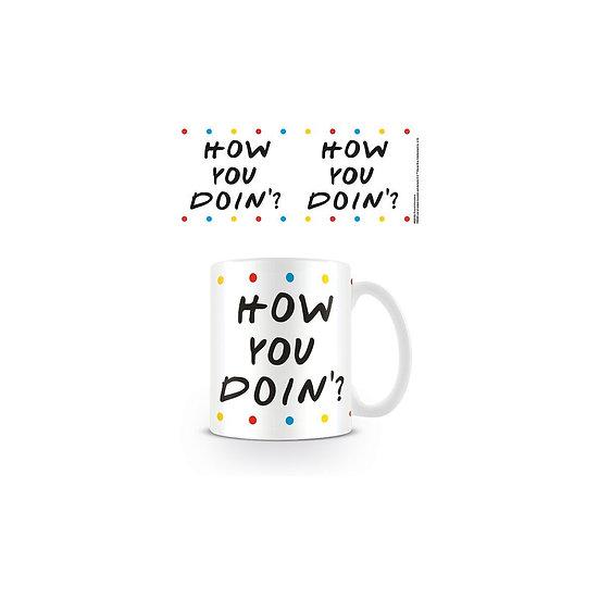 Friends How You Doin' Dots Mug