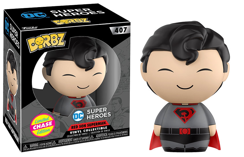 Funko Dorbz Super Heroes - Superman No. 407 Chase Limited Edition