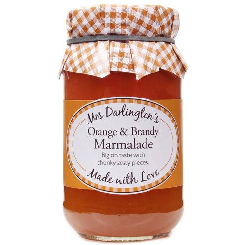 Mrs Darlington's Orange Marmalade With Brandy 340g