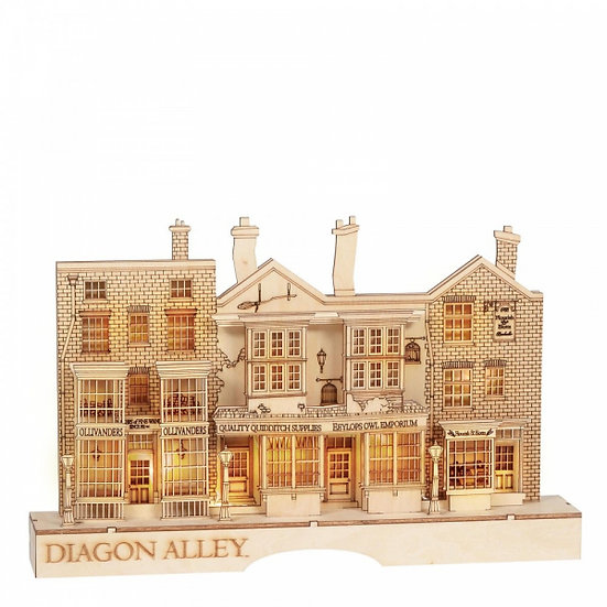 Harry Potter Diagon Alley Illuminated Centrepiece
