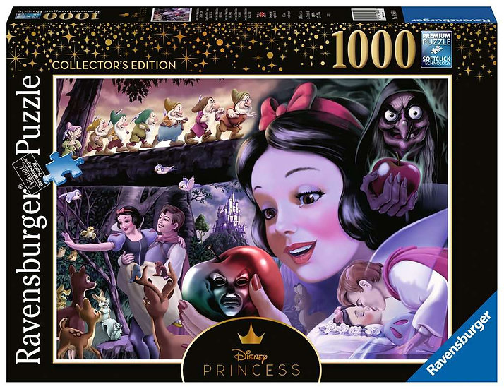 Disney Princess Heroines No.1 – Snow White Jigsaw Puzzle (1000 Pieces)