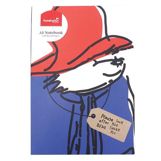 Paddington Bear A5 Notebook - Paddington