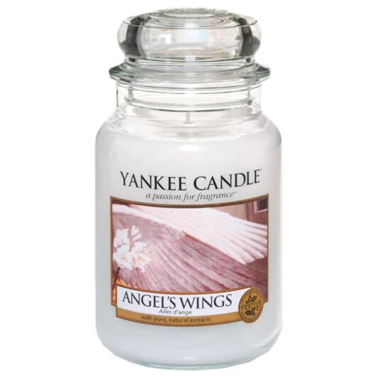 Yankee Candle Angel's Wings - Large Candle Jar 623g