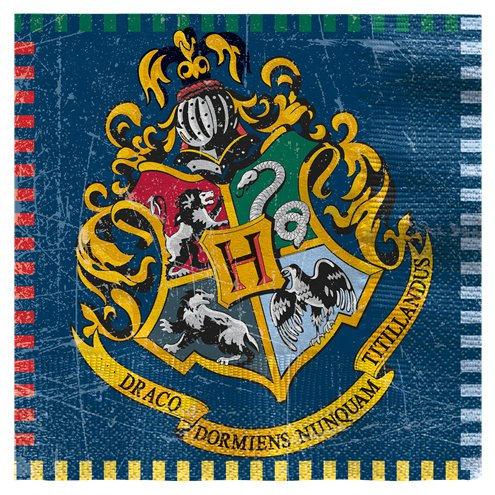 Harry Potter 33cm Paper Napkins 16pk