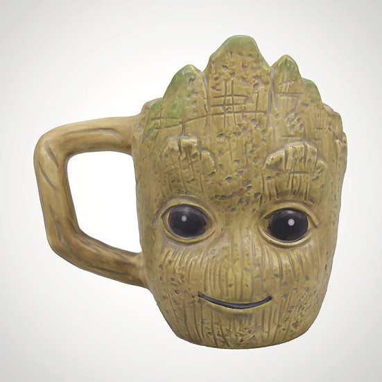 Guardians Of The Galaxy Shaped Mug - Groot