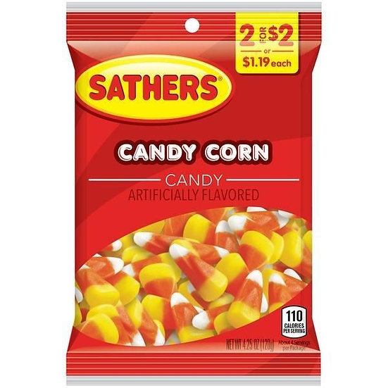 Sathers Candy Corn 120.5g