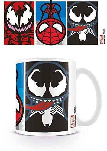 Marvel Kawaii Spiderman Villains Mug