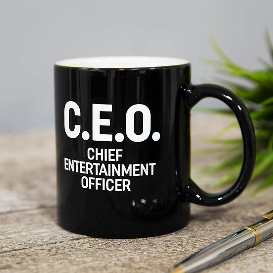 C.E.O. - Chief Entertainment Officer' mug