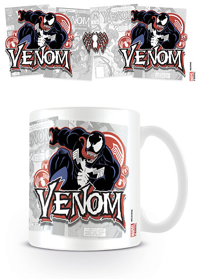 Marvel Venom Comic Covers Mug