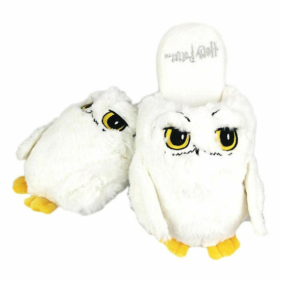 Harry Potter Hedwig Slippers UK Size 5-7