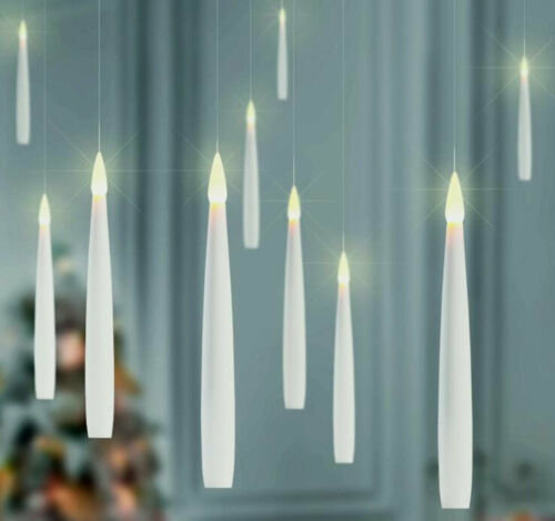 Floating LED Candles Set of 10