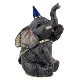 Sitting Circus Elephant Treasured Trinket