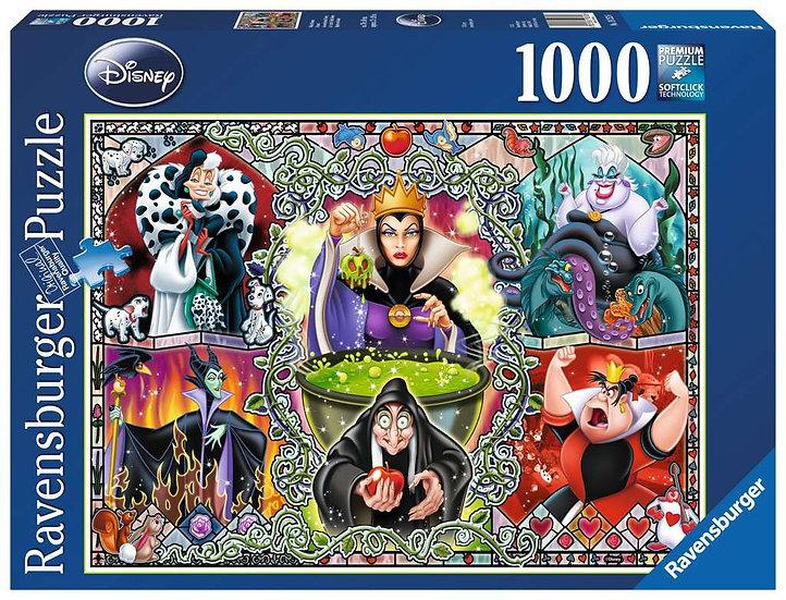 Disney Wicked Women Jigsaw Puzzle (1000 Pieces)