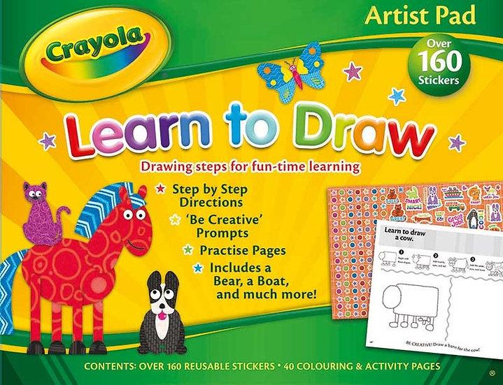 Crayola Artist Pad - Learn To Draw