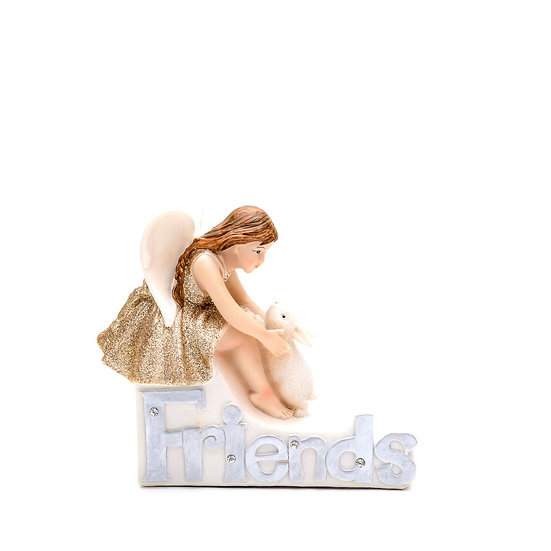 Thoughts Of You Angel Figurine - Friends