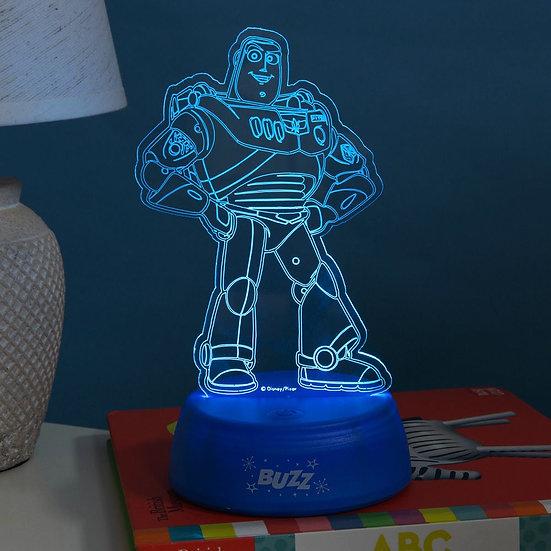 Disney Toy Story 4 Buzz Lightyear Laser Etched Light