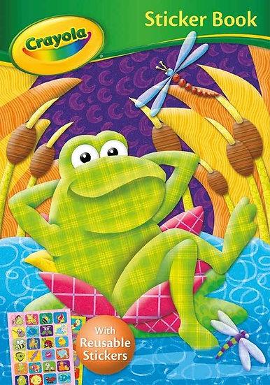 Crayola Sticker Book - Frog