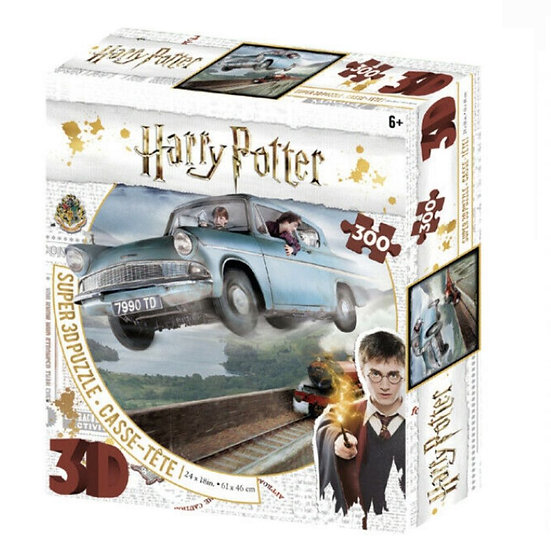 Harry Potter 3D Jigsaw Puzzle (300 Pieces) - Ford Anglia