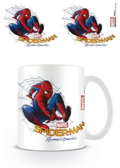 Marvel Spiderman Homecoming Web Mug