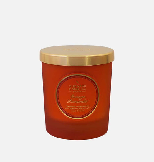 Shearer Candle Orange Pomander Jar Candle - Couture Collection