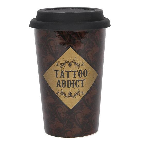 Tattoo Addict Travel Mug