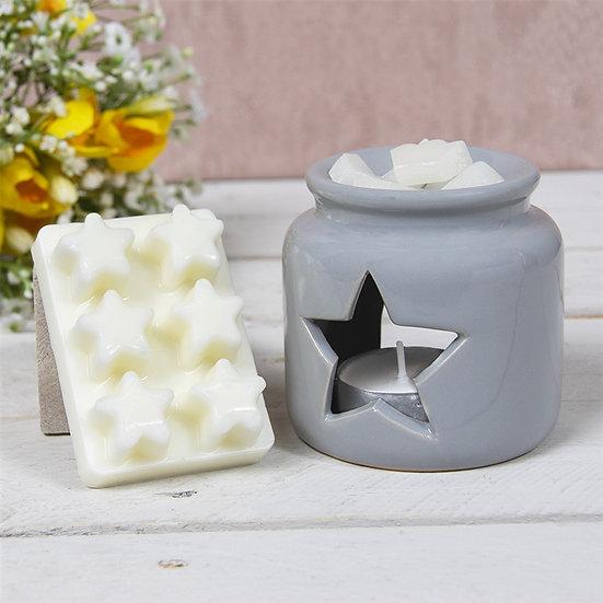 Grey Star Wax Melt & Oil Warmer Gift Set