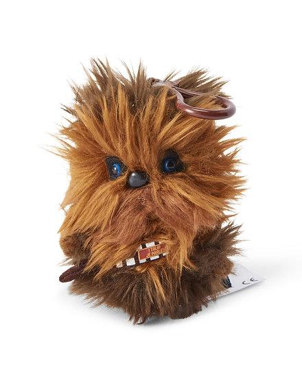 Star Wars Mini Talking Plush Toy Clip On - Chewbacca