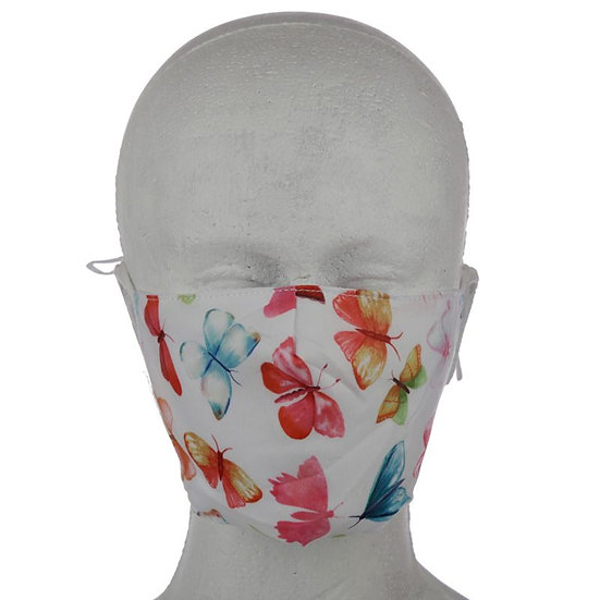 Butterfly House Reusable Face Mask - Large