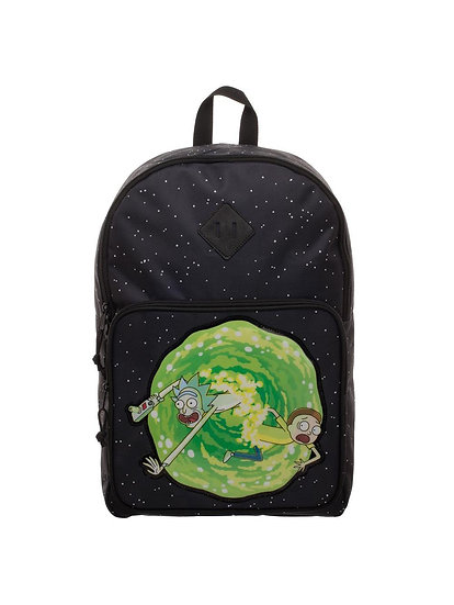 Rick And Morty Space Portal Backpack